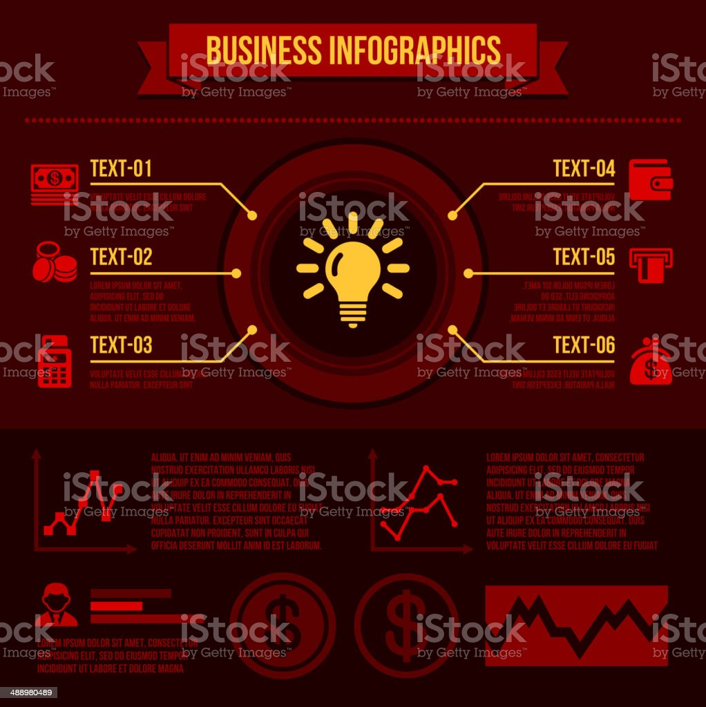 Business Infographics Elements. royalty-free stock vector art