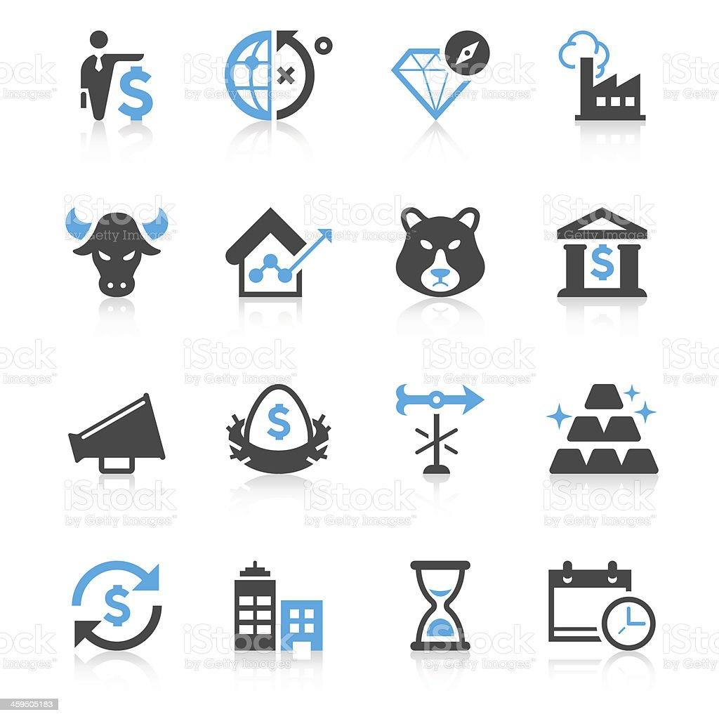 Business & Investment Icon Set | Concise Series vector art illustration