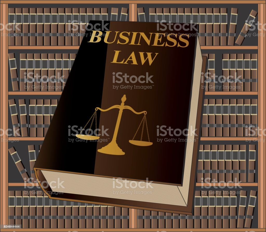 Business Law vector art illustration