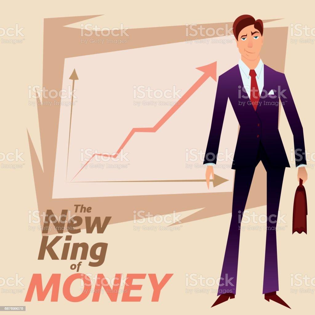 Business man 1 vector art illustration