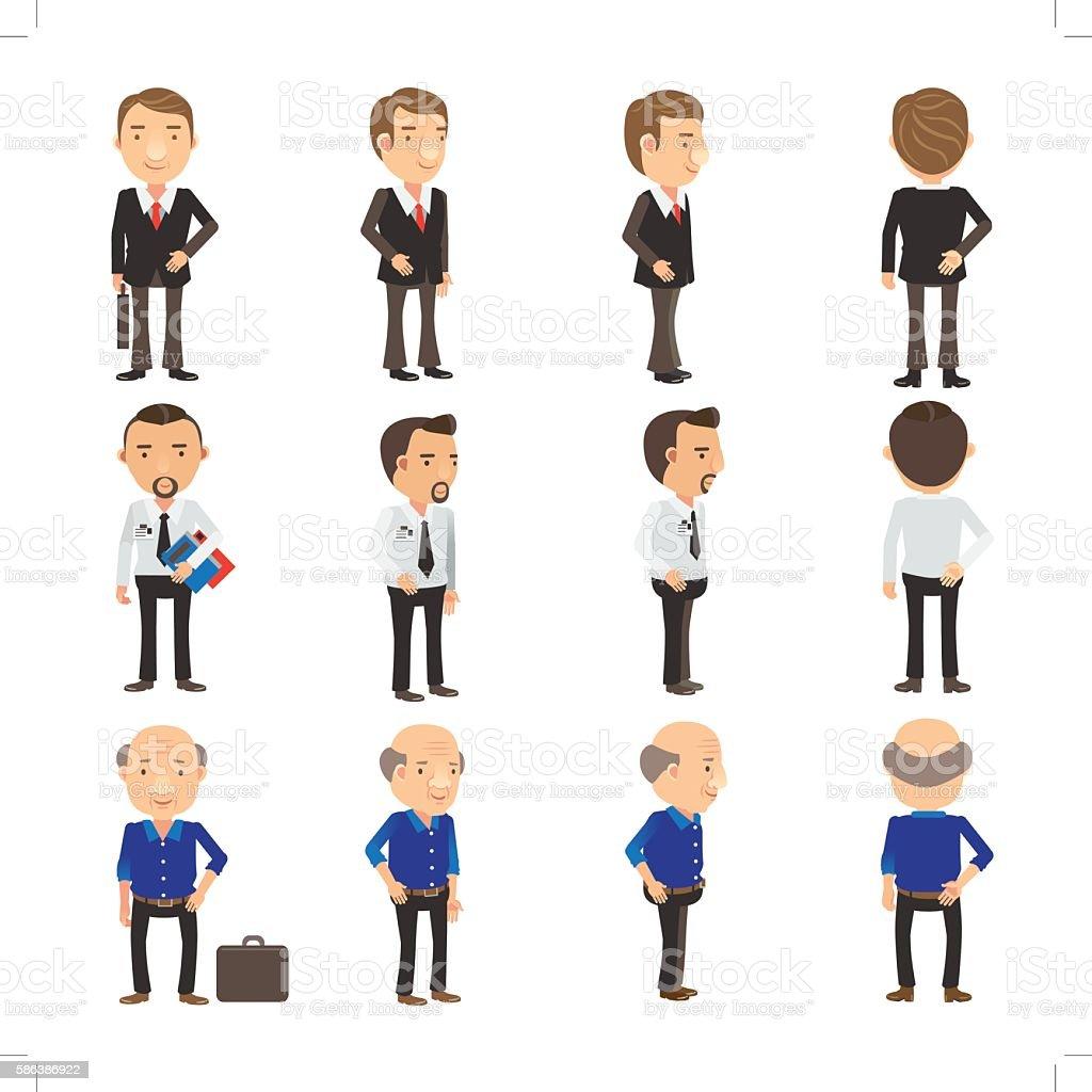 Uomo d'affari  illustrazione royalty-free