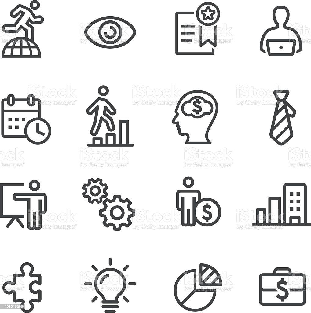 Business Management Icons - Line Series vector art illustration