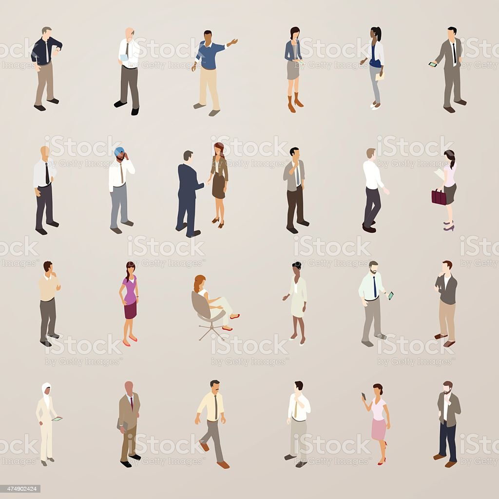 Isometric People Download