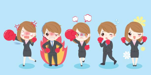 Frustrated Asian Student Clip Art, Vector Images & Illustrations ...