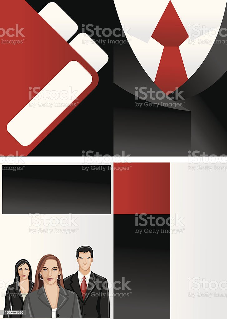 Business people royalty-free stock vector art