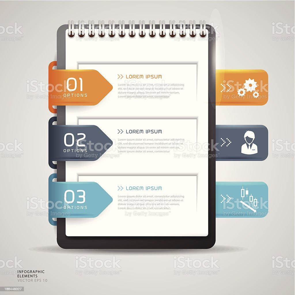 Business Plan Concept Graphic Element - Illustration vector art illustration