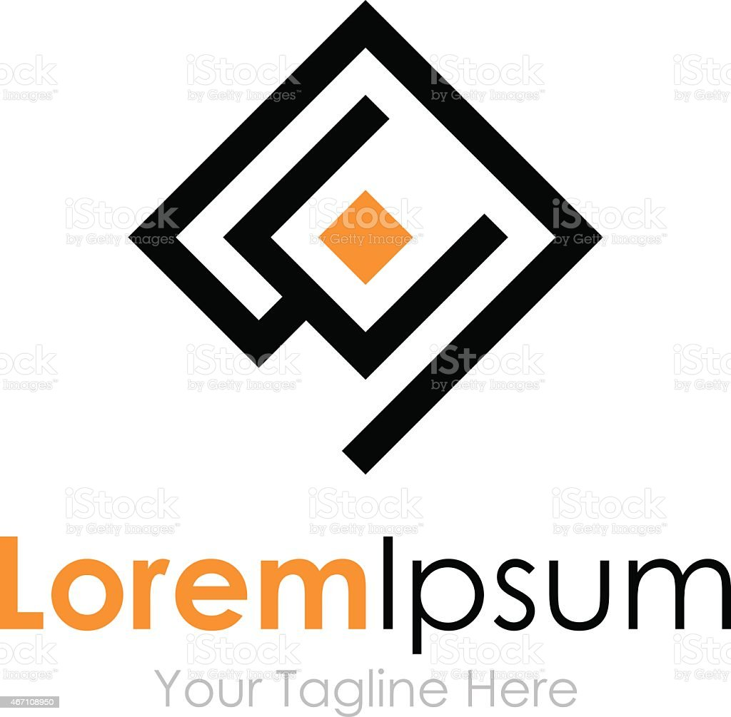Business plug in jack start element icon logo vector art illustration