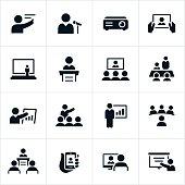 Business Presentation Icons
