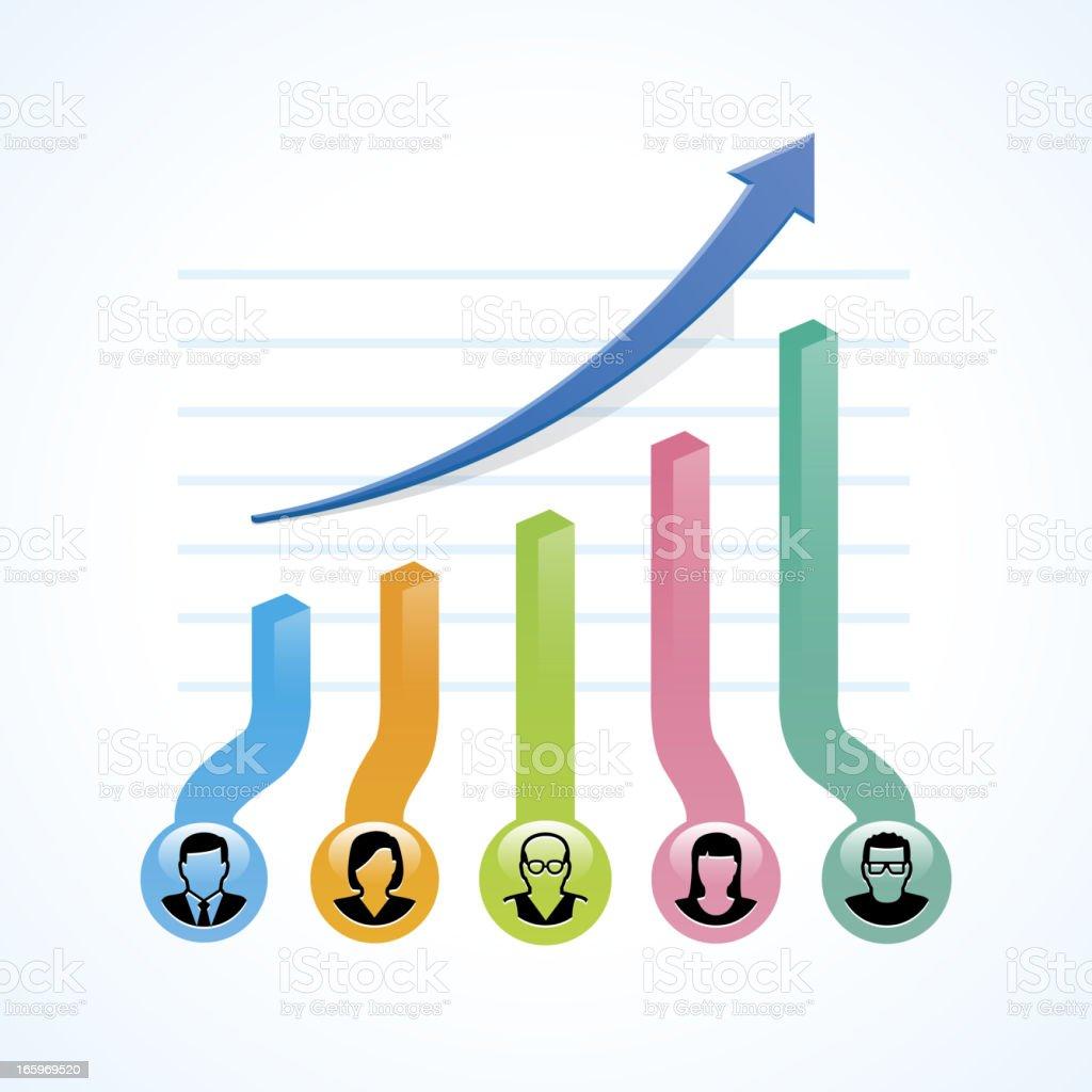 Business productivity royalty-free stock vector art
