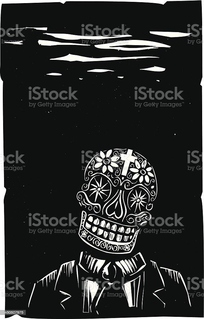 Business Skull royalty-free stock vector art