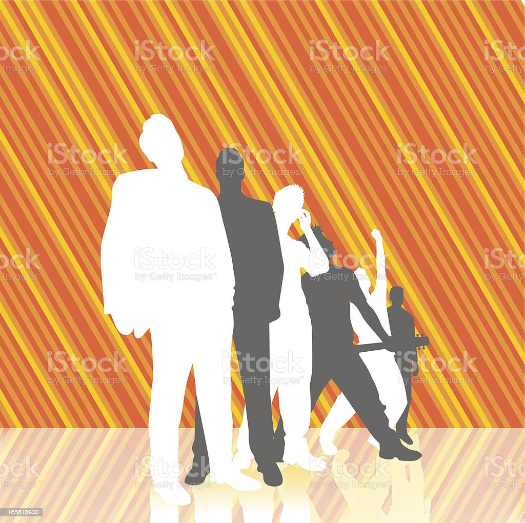 Business striped royalty-free stock vector art