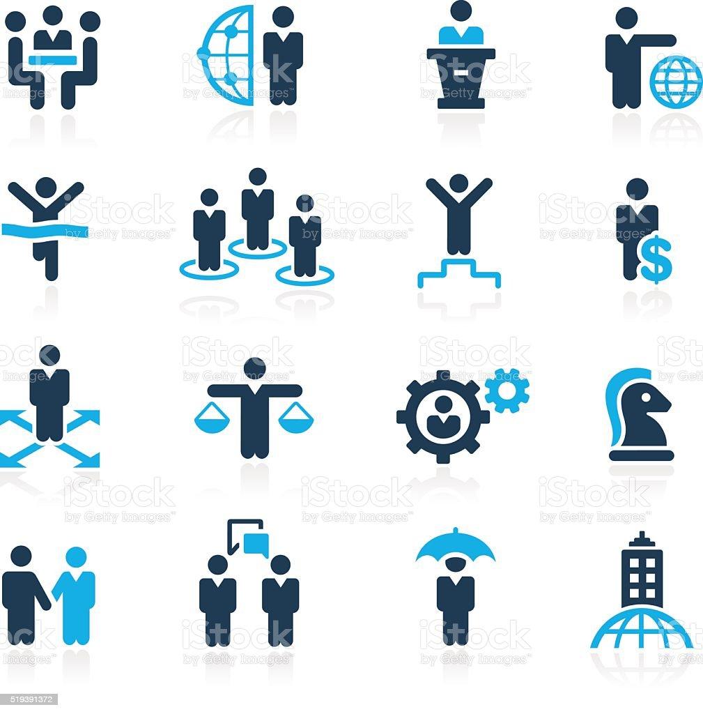 Business Success // Azure Series vector art illustration