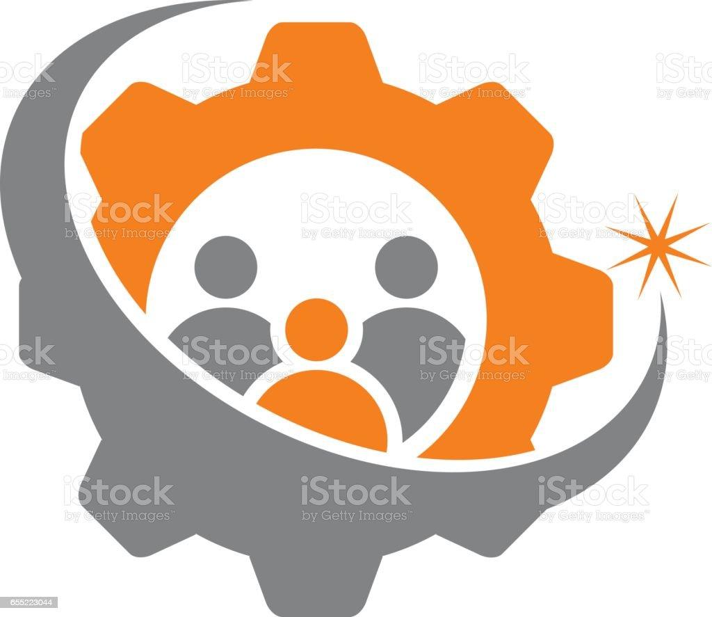 Business Success Service vector art illustration