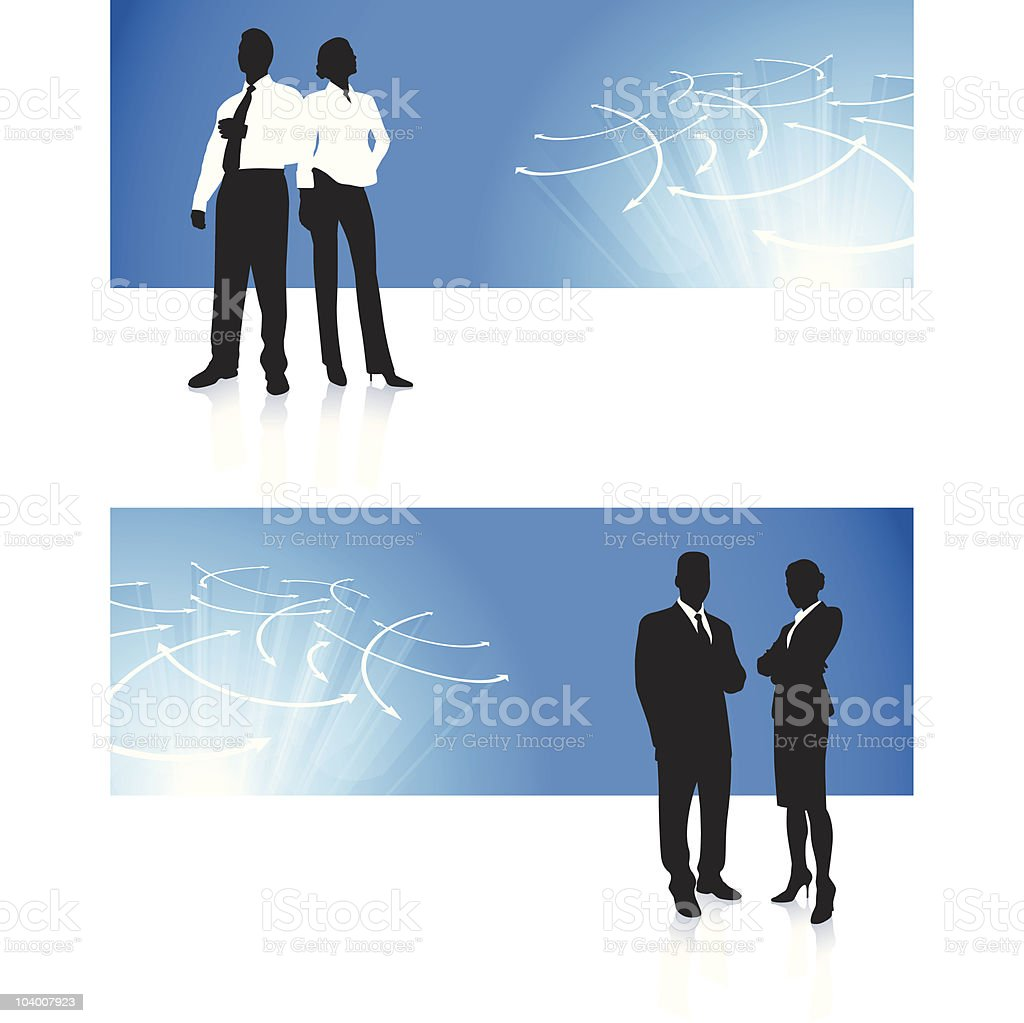 business team corporate banner backgrounds royalty-free stock vector art