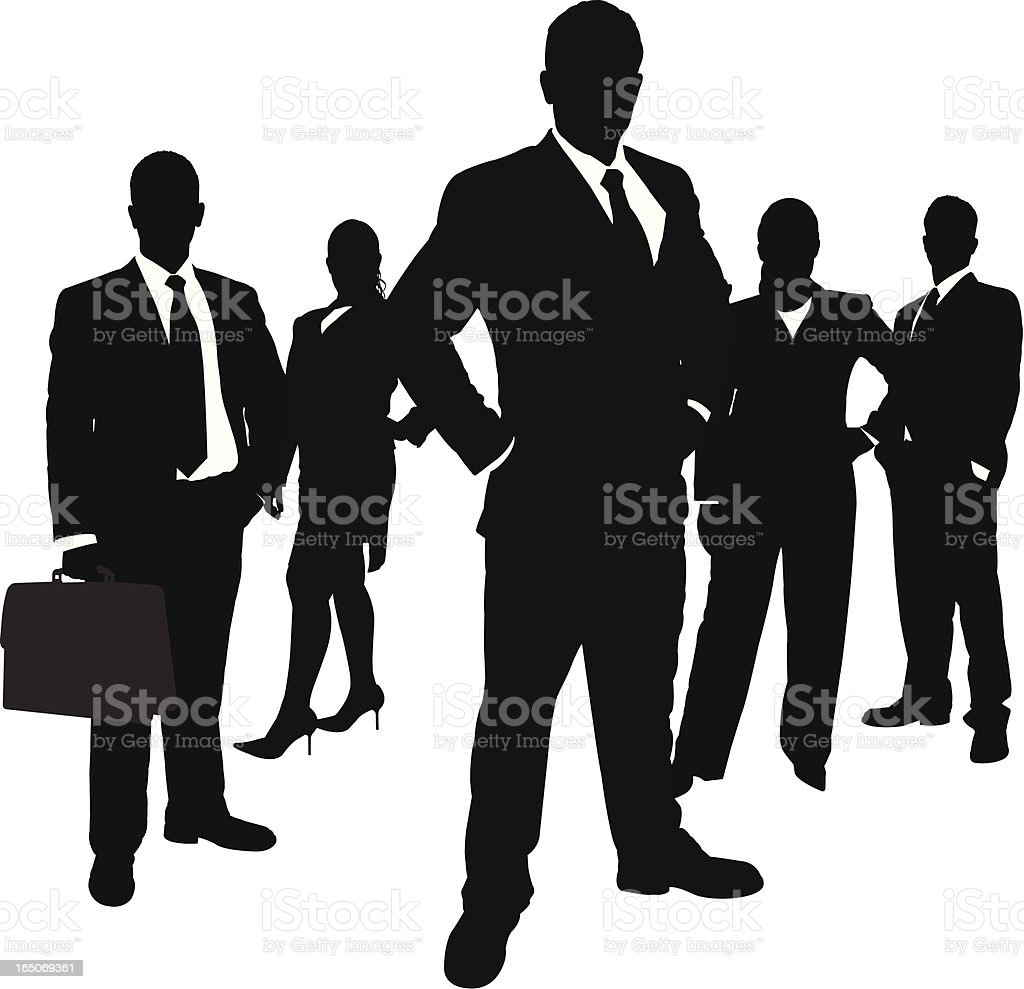 Business Team Series royalty-free stock vector art