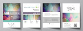 Business templates for brochure, magazine, flyer, booklet or annual report