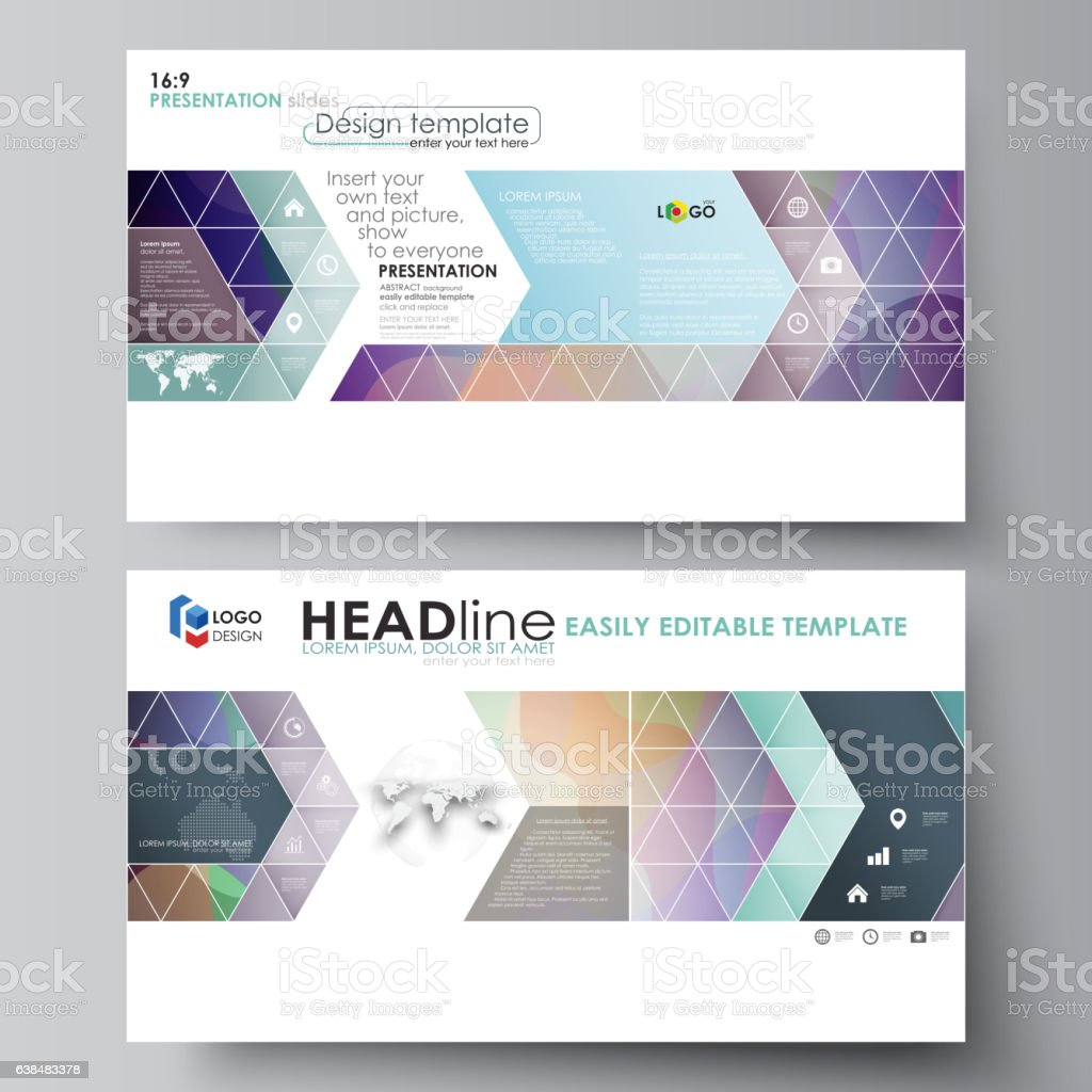 business templates in hd format for presentation slides easy business templates in hd format for presentation slides easy editable royalty stock vector