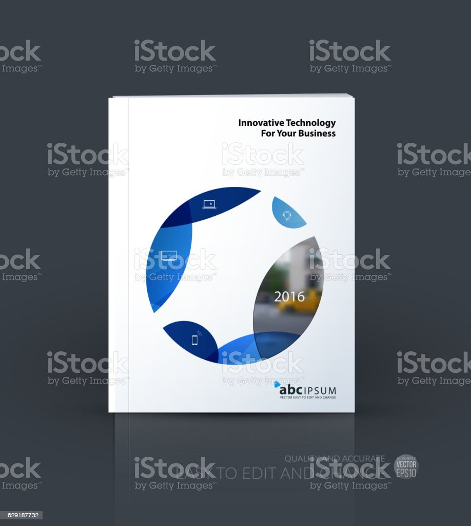 Business vector. Brochure template layout, cover design annual...