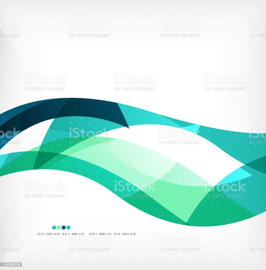 Business wave corporate background vector art illustration