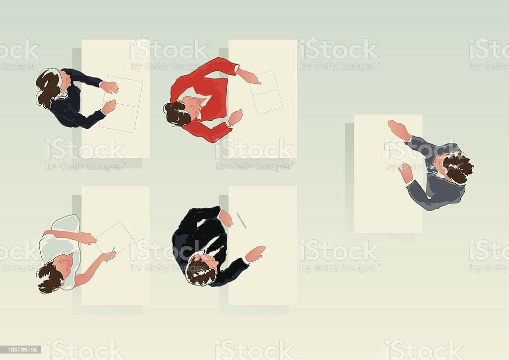 business workshop royalty-free stock vector art