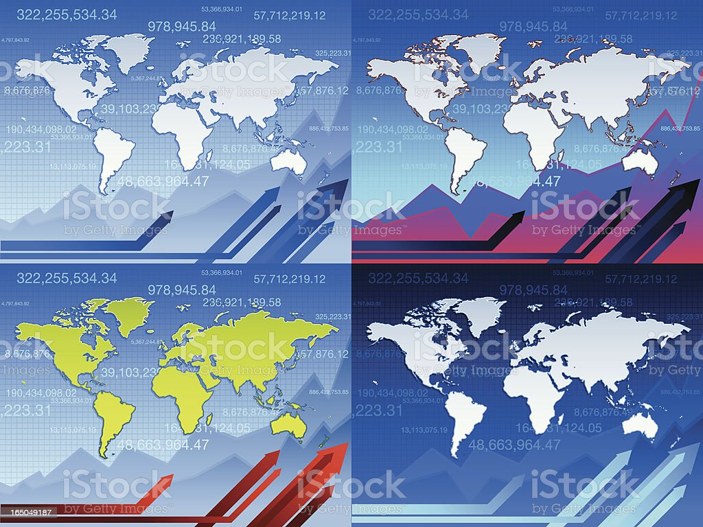 business world royalty-free stock vector art