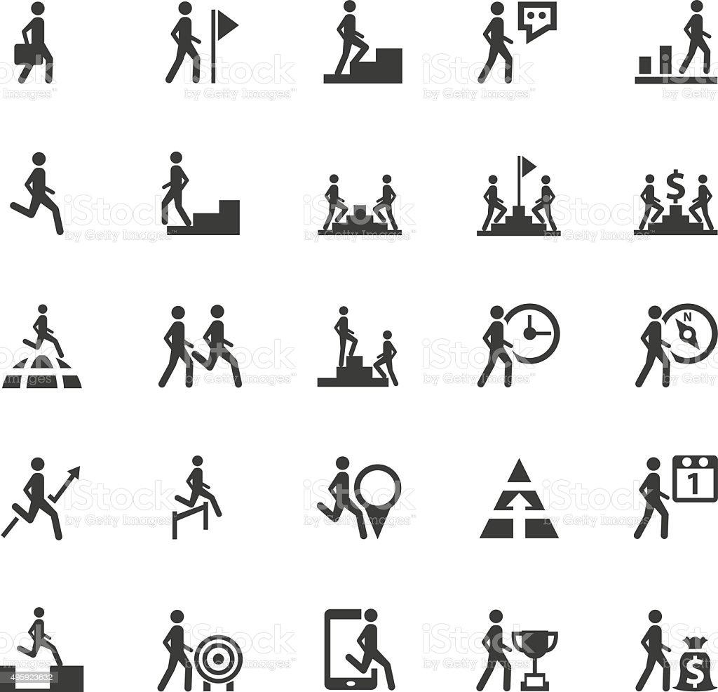Business,Human resource icons vector art illustration