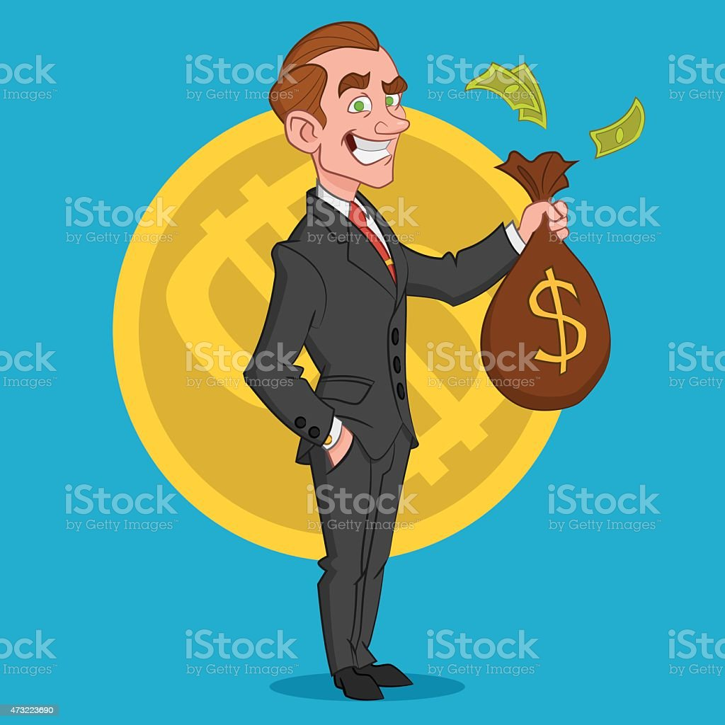 businessman. ?????????. vector art illustration