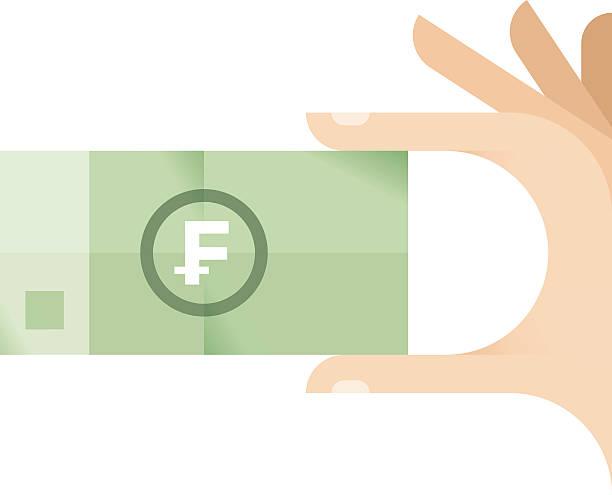 Symbol For Swiss Franc Clip Art Vector Images Illustrations Istock