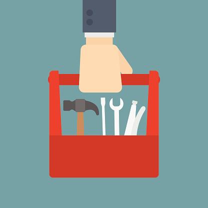 Resultado de imagem para toolbox illustration