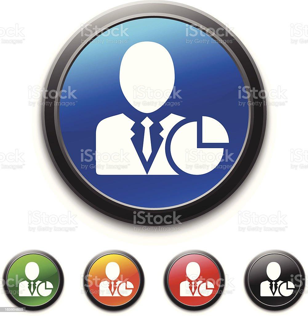 Businessman icon royalty-free stock vector art