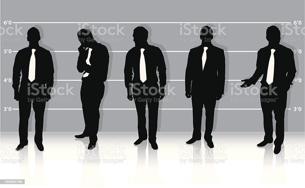 Businessman ID royalty-free stock vector art