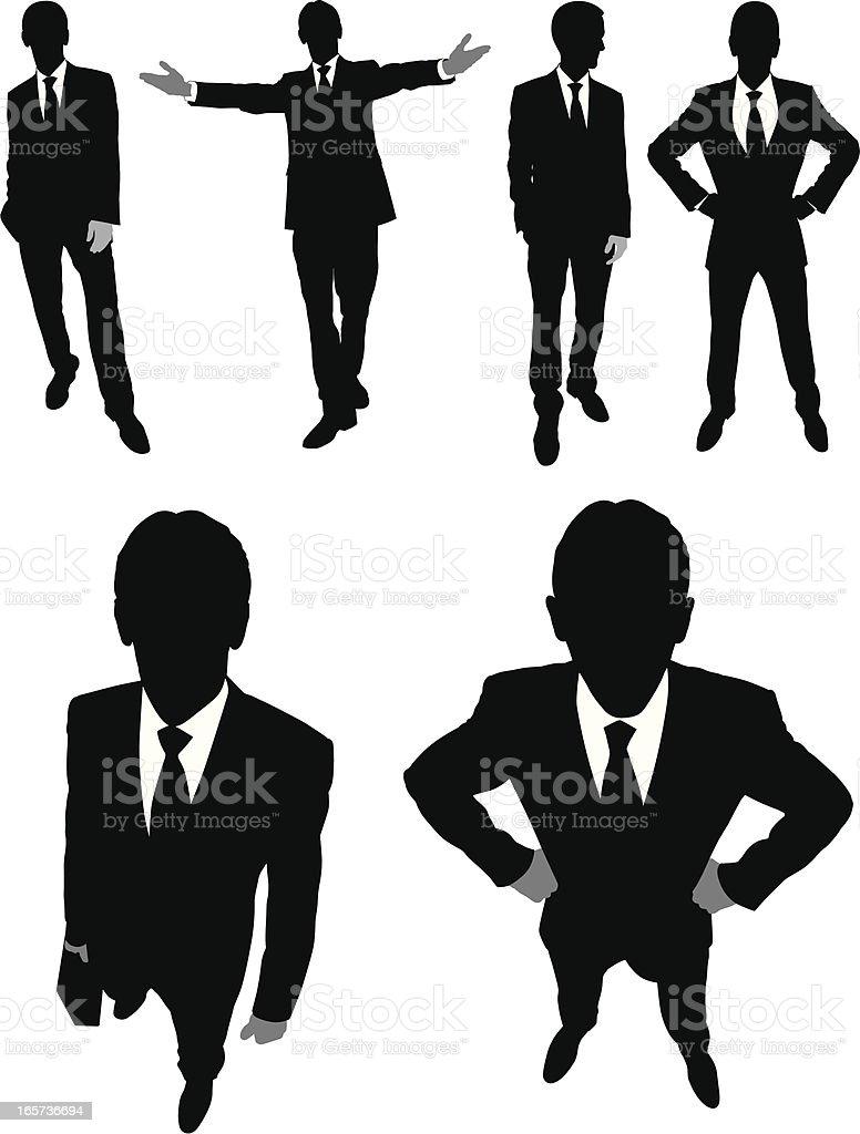 Businessmen royalty-free stock vector art