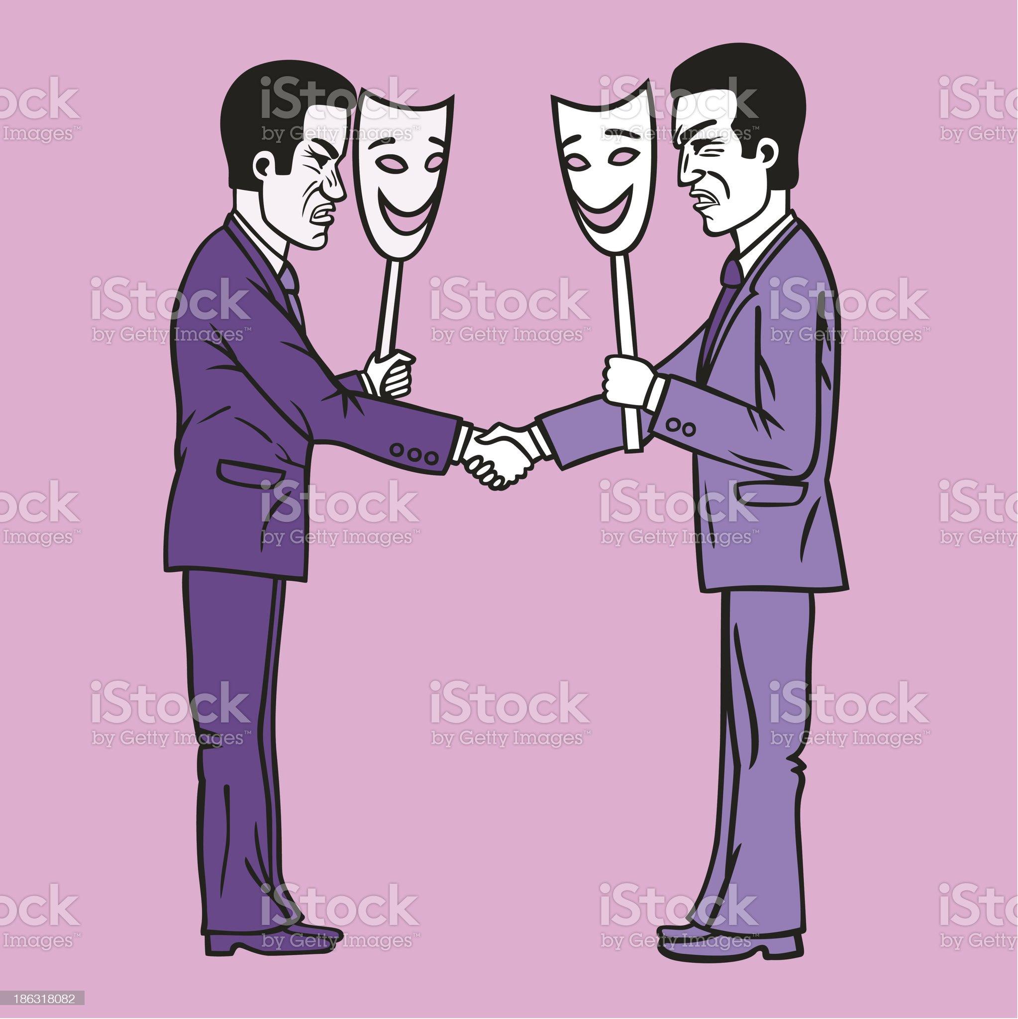 Businessmen. royalty-free stock vector art