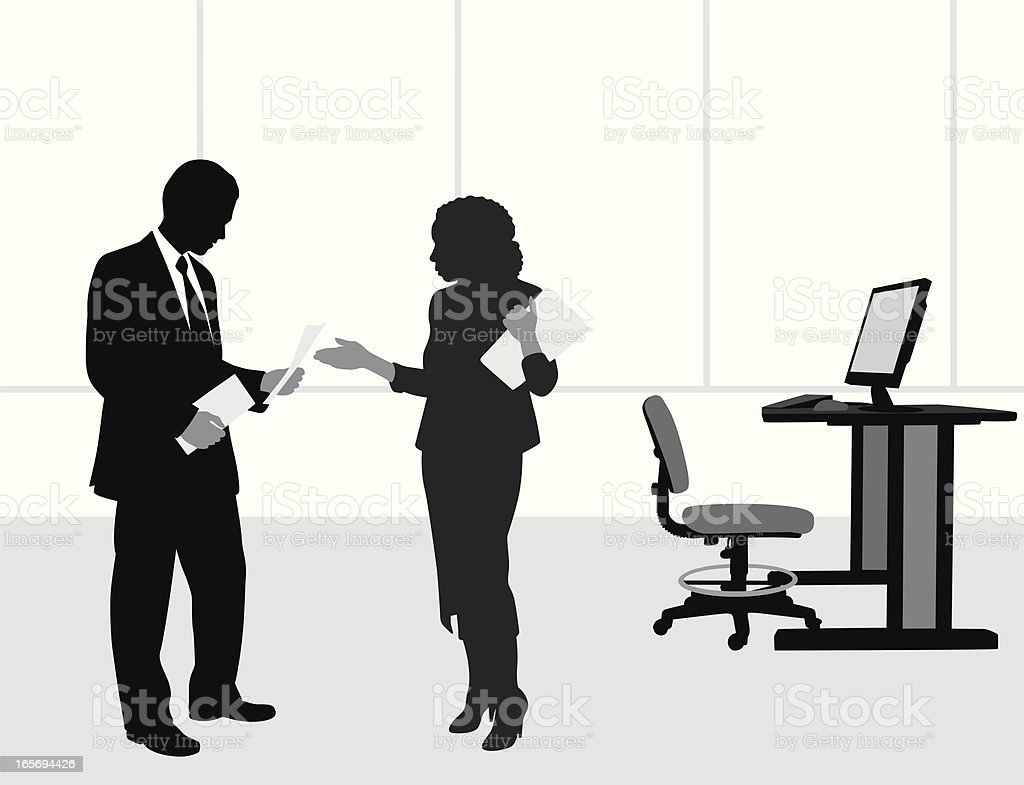 BusinessTalks royalty-free stock vector art