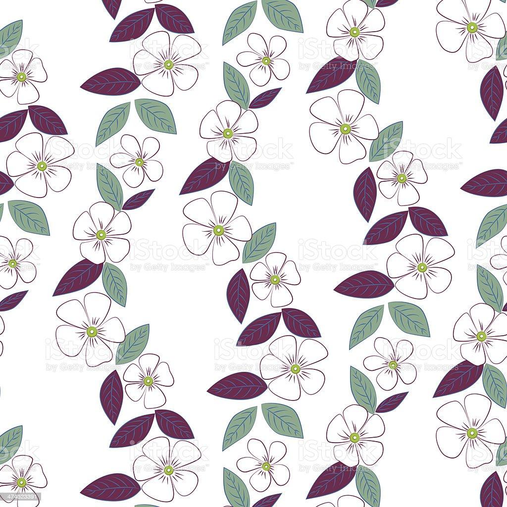 Buttercup pattern vector art illustration