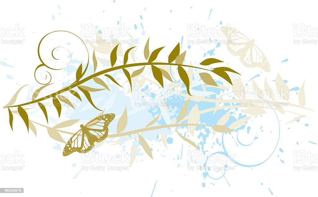 Butterfly Design royalty-free stock vector art