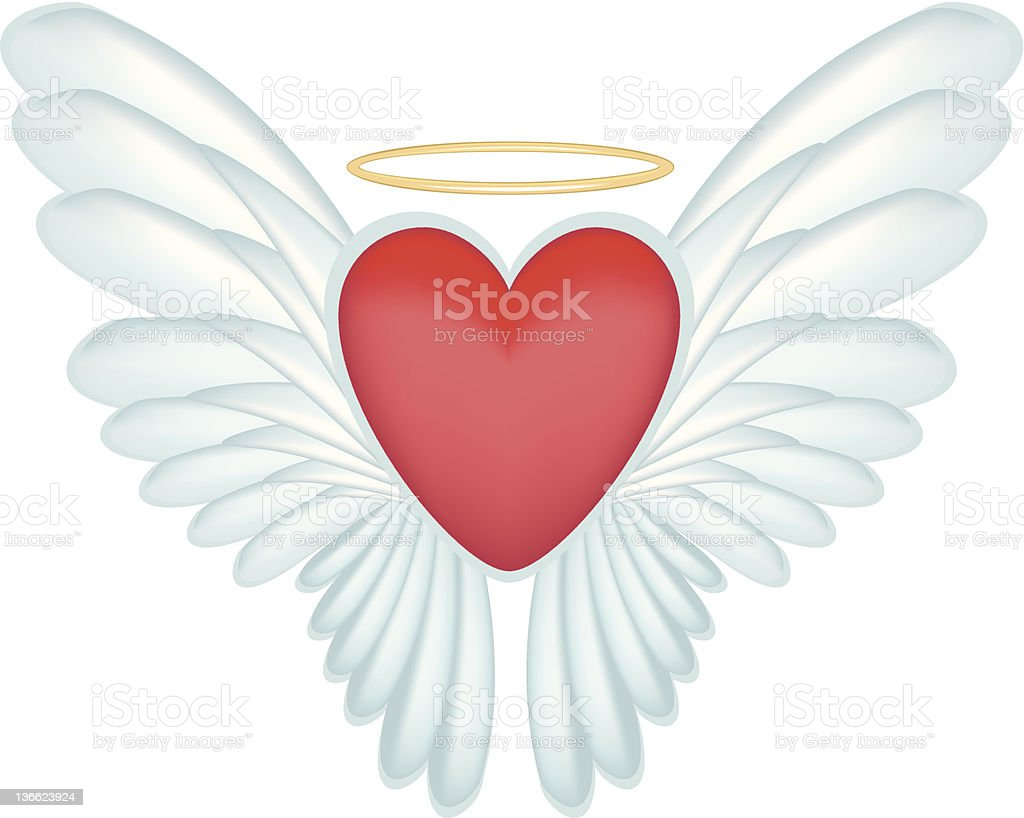 Butterfly Heart royalty-free stock vector art