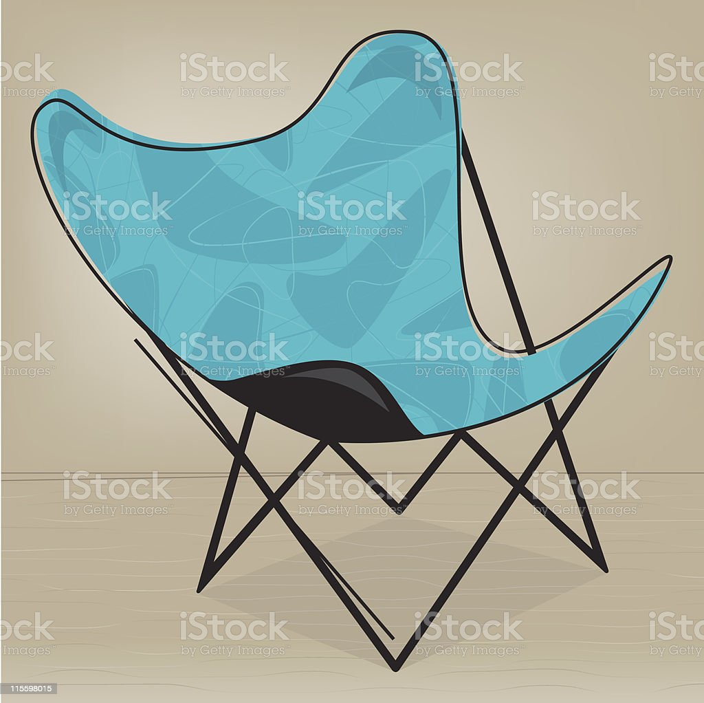 Butterfly Patio Chair Royalty Free Stock Vector Art