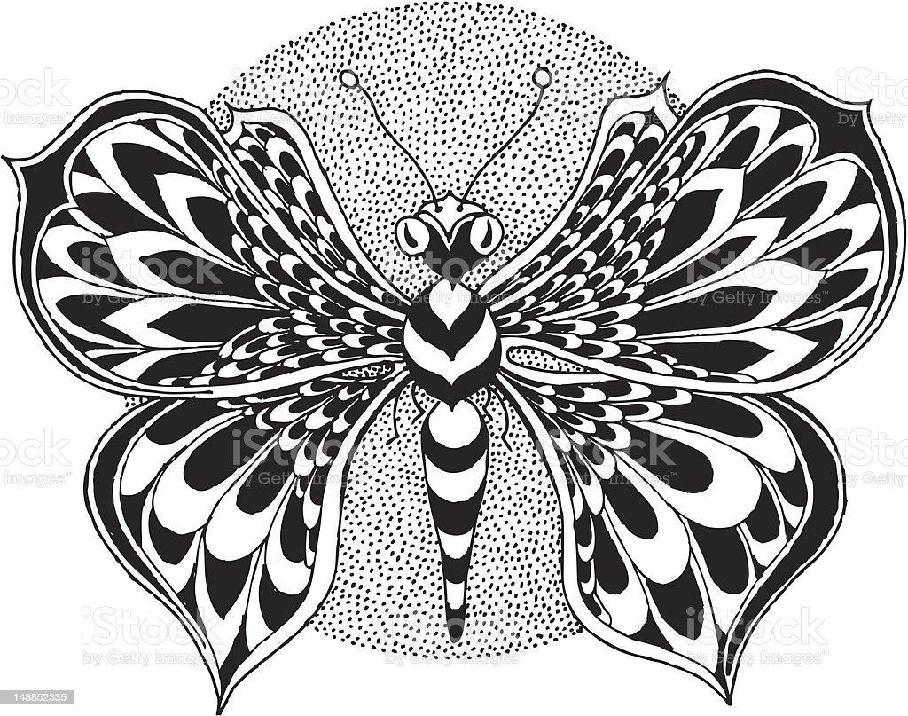 Butterfly Vector Illustration vector art illustration