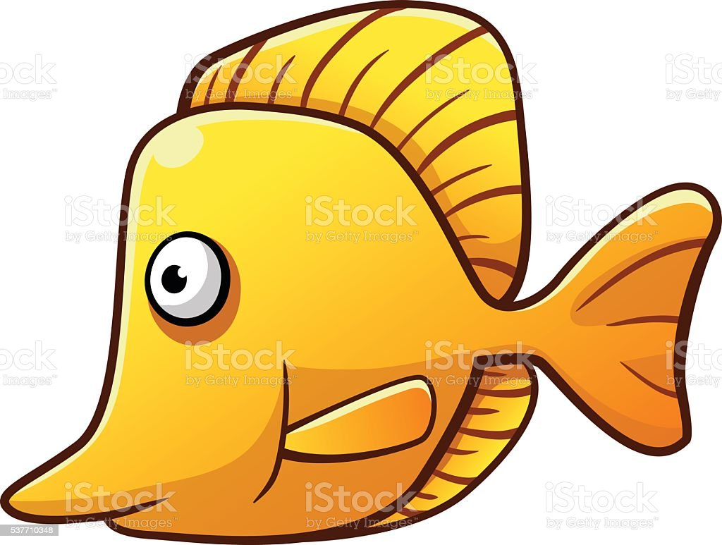 Butterflyfish royalty-free stock vector art