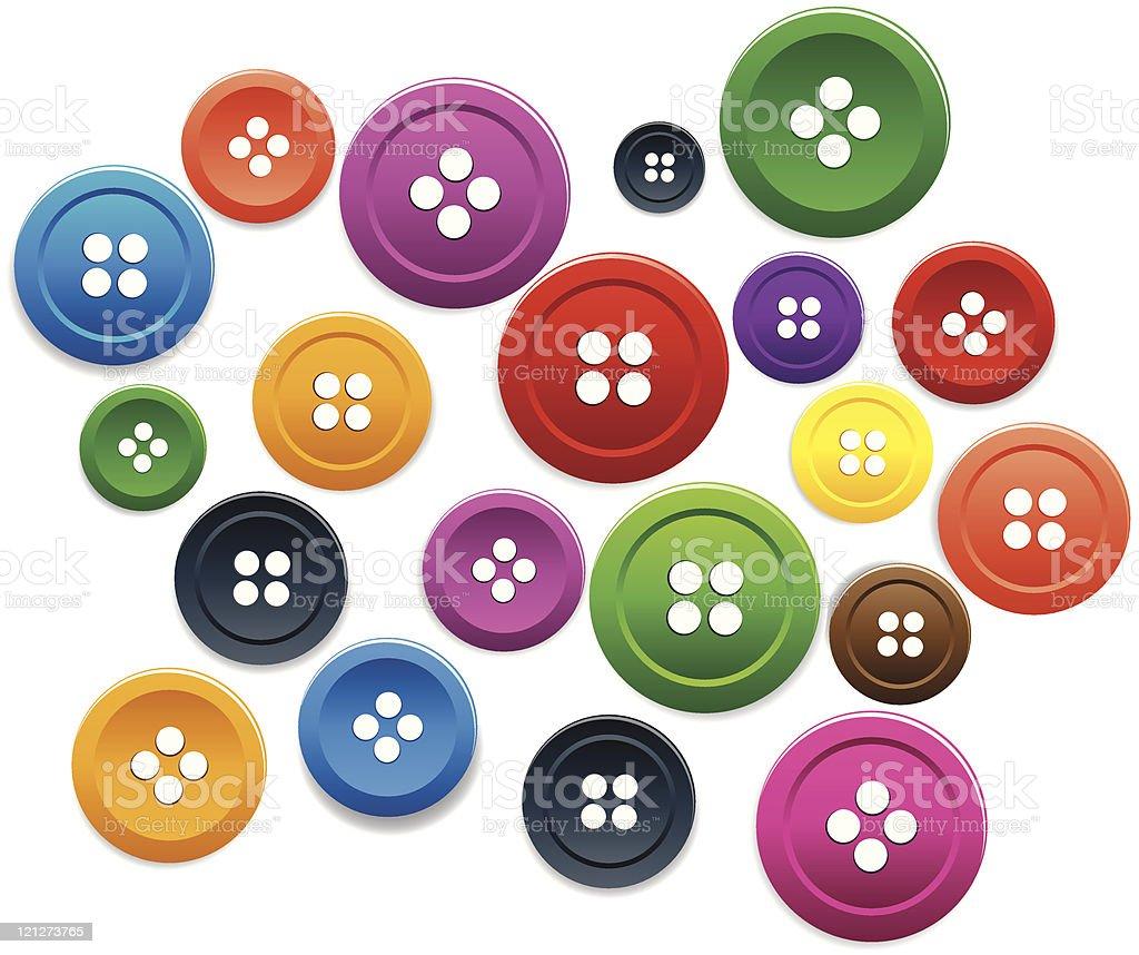 button royalty-free stock vector art
