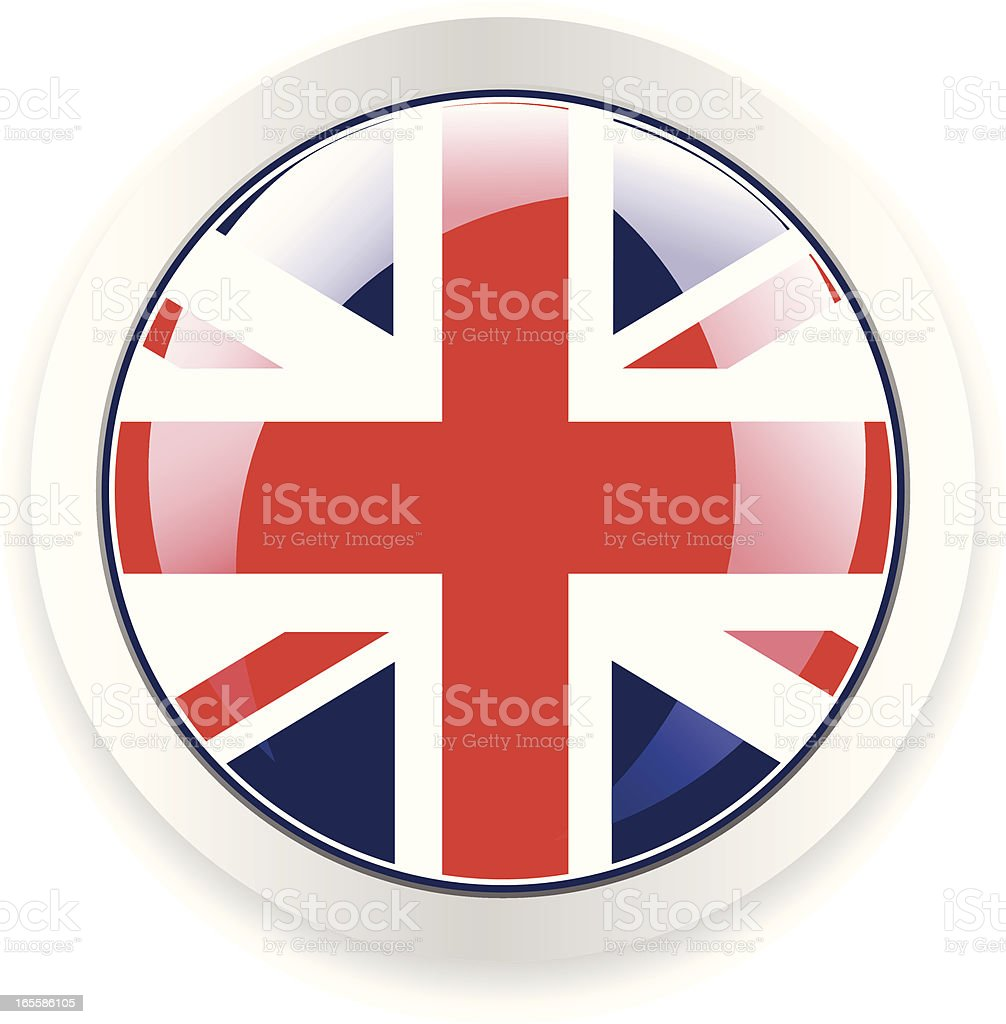 UK Button royalty-free stock vector art