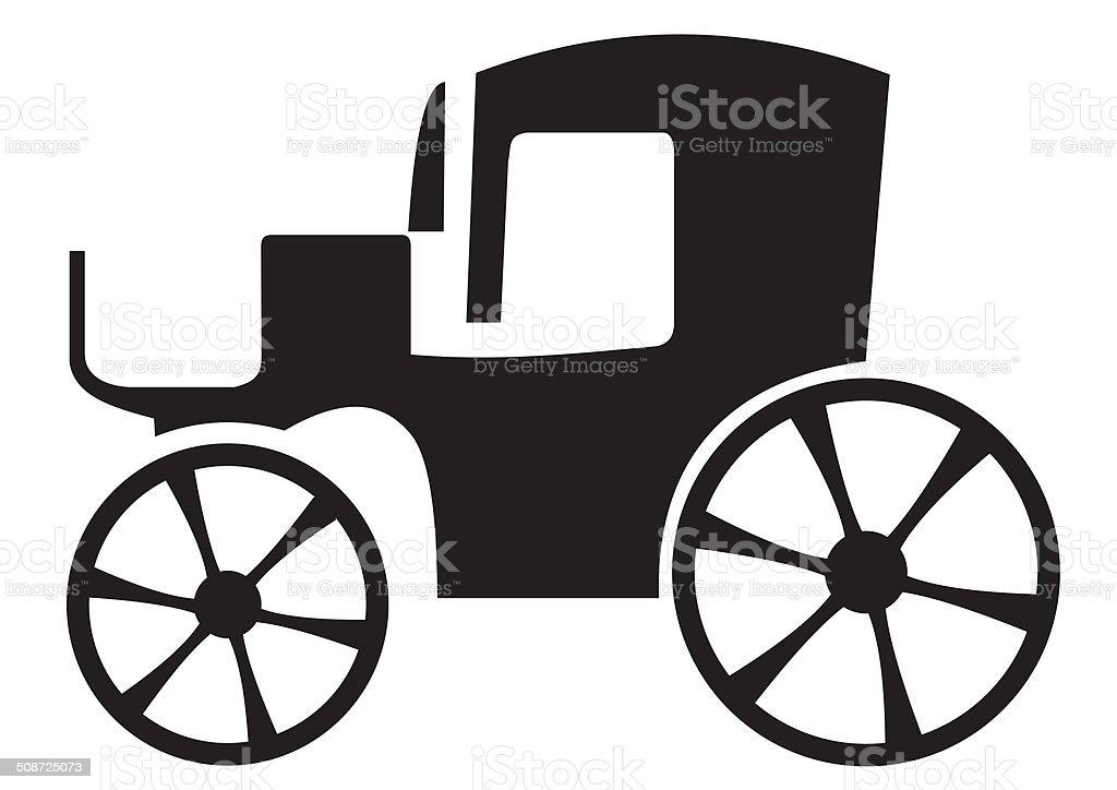 Cab vector art illustration