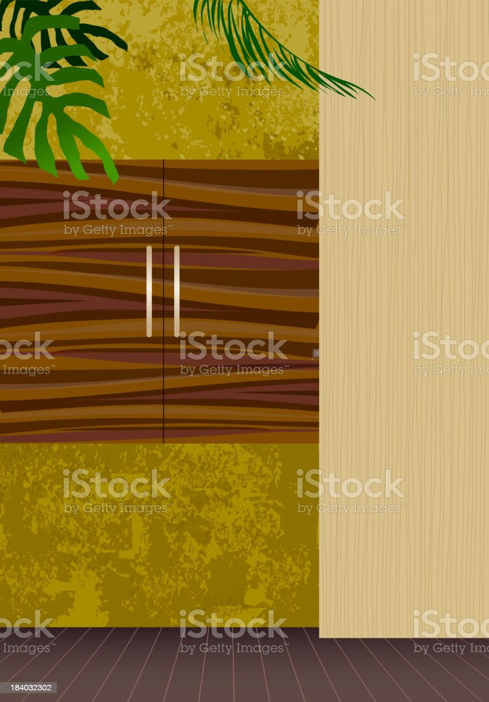Cabinet royalty-free stock vector art