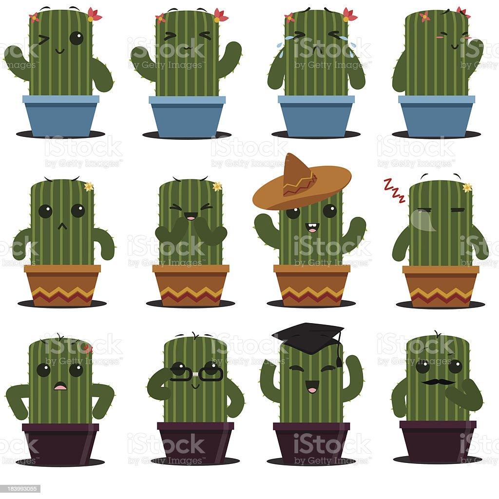 Cactus royalty-free stock vector art