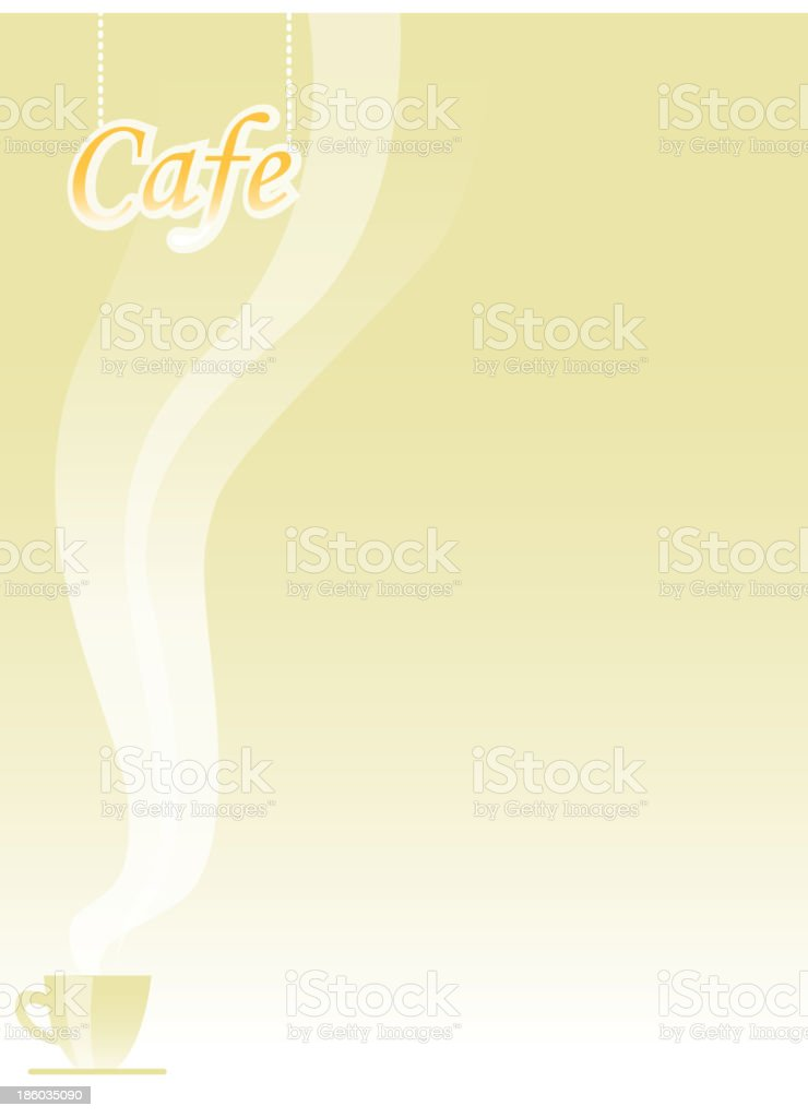 caf? royalty-free stock vector art