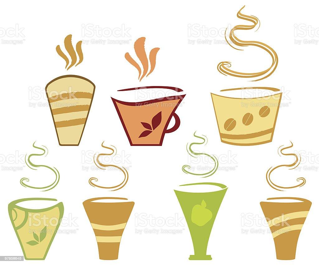 Cafe Clip-Art vector art illustration