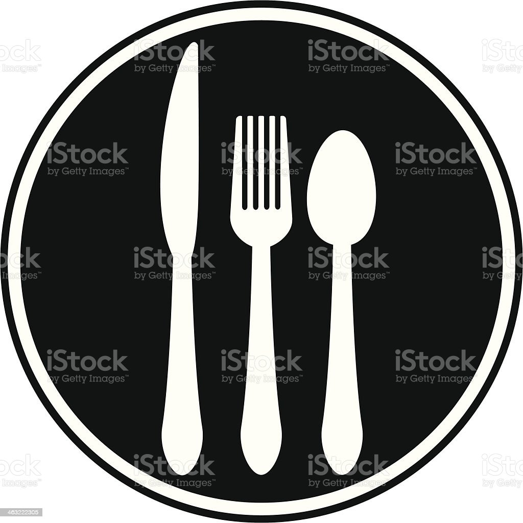 Cafe Icon royalty-free stock vector art