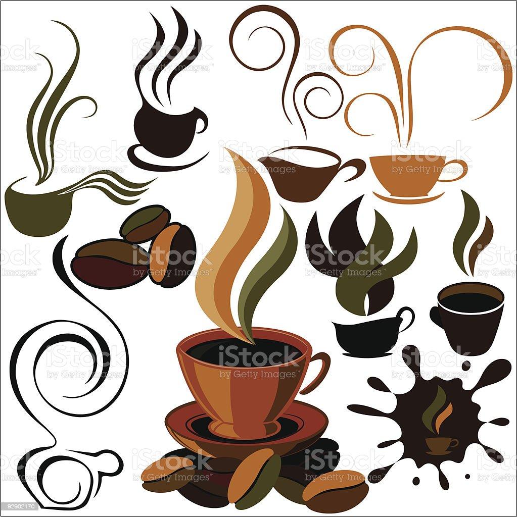 cafe menu icon royalty-free stock vector art