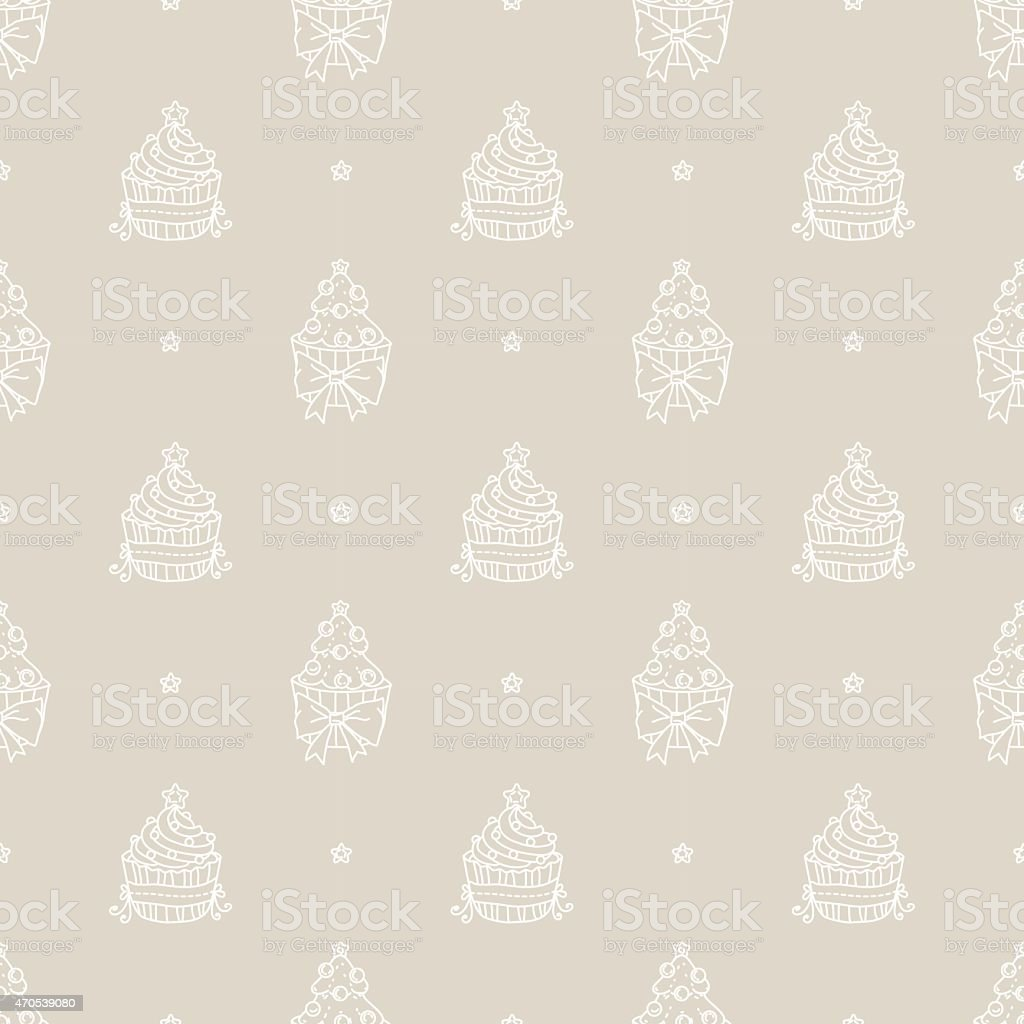 cake pattern vector art illustration